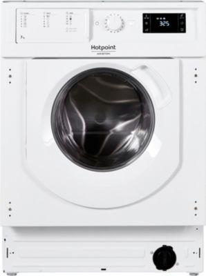 Lave linge hublot encastrable Hotpoint BI WMHG 71484 EU
