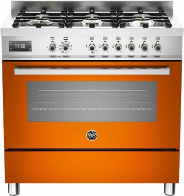 Piano de cuisson mixte Bertazzoni PRO 90 6 MFE S AR T