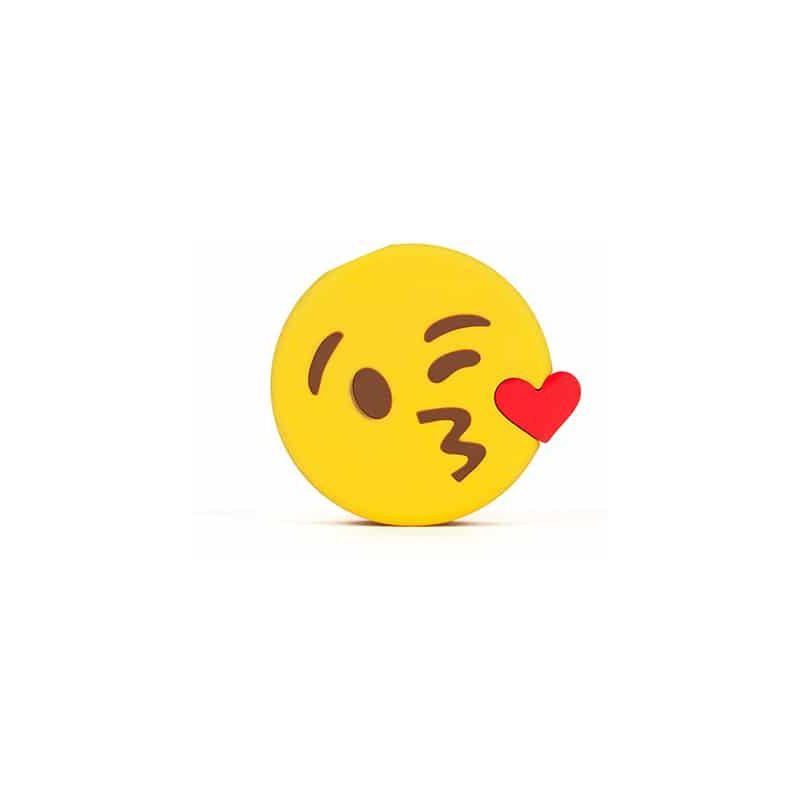 Mojipower Powerbank 2600 Mah Emoji Bisou