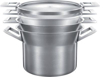 Batterie de cuisine castey artic 4 pces marmite-Faitout