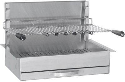 Grille Forge adour encastrable inox 961.66