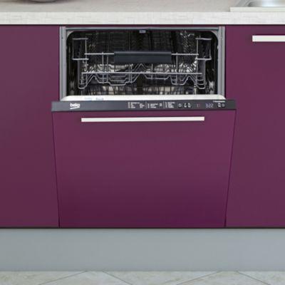 ... Lave Vaisselle Tout Intégrable 60 Cm BEKO LVI62F