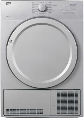 beko db7131pa0s silver s che linge condensation. Black Bedroom Furniture Sets. Home Design Ideas