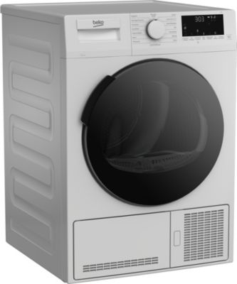 Sèche linge pompe à chaleur Beko BDS94D7W