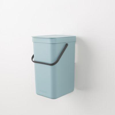 brabantia waste bin sort go 12l mint poubelle boulanger. Black Bedroom Furniture Sets. Home Design Ideas