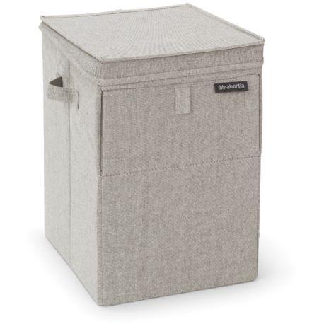 ACC-linge BRABANTIA panier à linge empilable gris 35L
