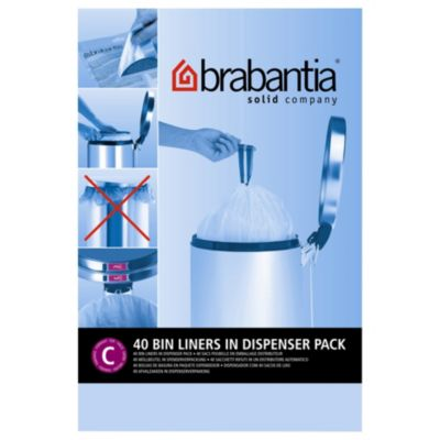 brabantia sacs poubelle 12l 40sacs distributeur sac poubelle boulanger. Black Bedroom Furniture Sets. Home Design Ideas
