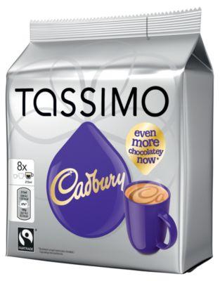 Dosette Tassimo JDE Tassimo Cadbury x8