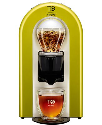 Machine à thé Krups T.O By Lipton Vert Anis TES00300