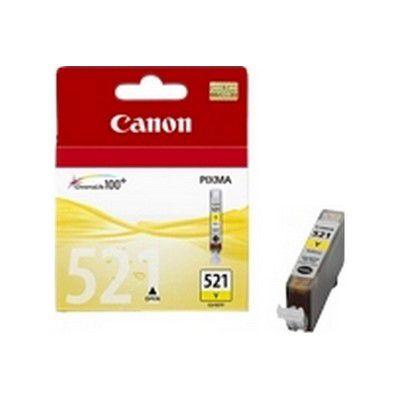 Cartouche d'encre Canon CLI-521Y Jaune