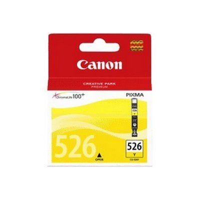 Cartouche d'encre Canon CLI526 Jaune