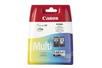 Cartouche d'encre Canon PG-540 noire CL-541 3 couleurs