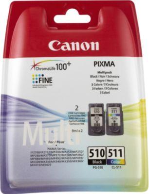 Cartouche d'encre Canon Pack PG510/CL511