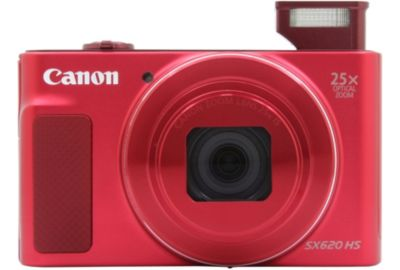 APN CANON Pack SX620 HS Rouge + Etui + SD 16Go