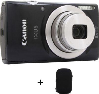 Appareil photo Compact Canon Ixus 185 Noir + Etui
