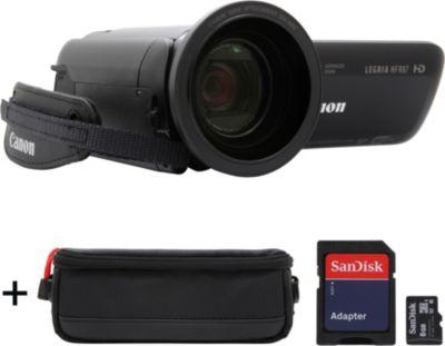 Caméscope Canon Legria HF-R87 + Etui + 8 Go