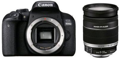 Appareil photo Reflex Canon EOS 800D + 18-200mm IS