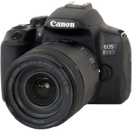 Reflex CANON EOS 850D + 18-135mm IS USM