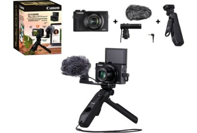 Compact Canon Kit vlogging G7X