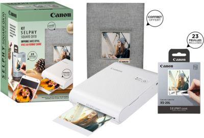 Impr. CANON Selphy Square QX10 Noire