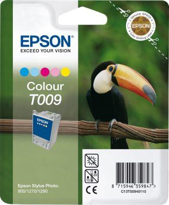 Cartouche d'encre Epson T009 5 couleurs série Toucan