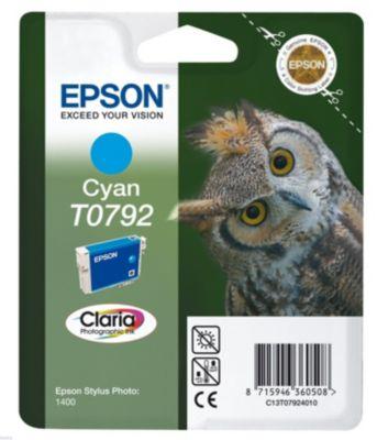 Cartouche d'encre Epson T0792 Cyan série Chouette