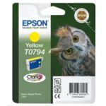 Cartouche EPSON T0794 Jaune série Chouet