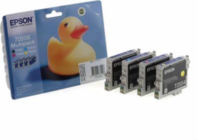 Cartouche d'encre Epson T0556 série canard