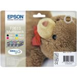 MultiPack EPSON T0615 N/C/M/J série ours