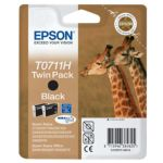 Cartouche EPSON T07114H deux cartouches