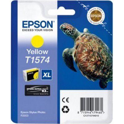 Cartouche d'encre Epson T1574 Jaune série Tortue