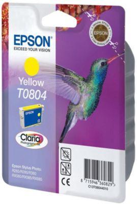Cartouche d'encre Epson T0804 Jaune série Colibri