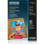 Papier EPSON glacé 200g 13x18 50feuilles