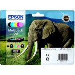 Pack EPSON T2428 N/C/M/J/CC/MC Série Elé