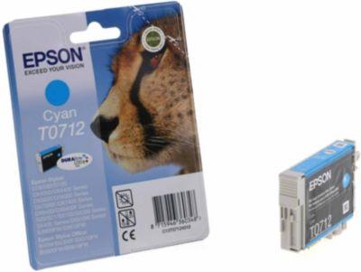 Cartouche d'encre Epson T0712 Cyan série Guépard