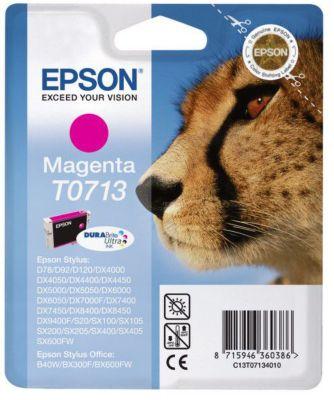 Cartouche d'encre Epson T0713 Magenta série Guépard