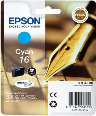 Cartouche d'encre Epson T1622 Cyan Série Stylo Plume