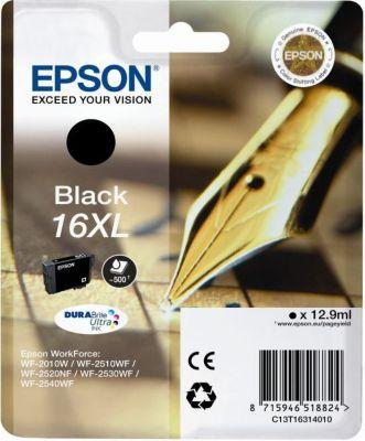 Cartouche d'encre Epson T16 XL Noire Série Stylo Plume