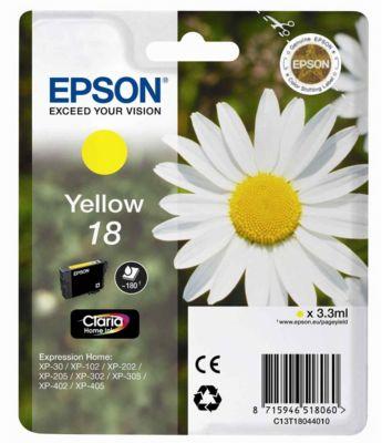 Cartouche d'encre Epson T1804 Jaune Série Paquerette