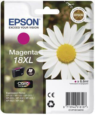 Cartouche d'encre Epson T1813 Magenta XL Série Pâquerette