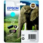 Cartouche EPSON T2422 Cyan Série Eléphan