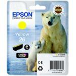 Cartouche EPSON T2614 Jaune Série Ours P
