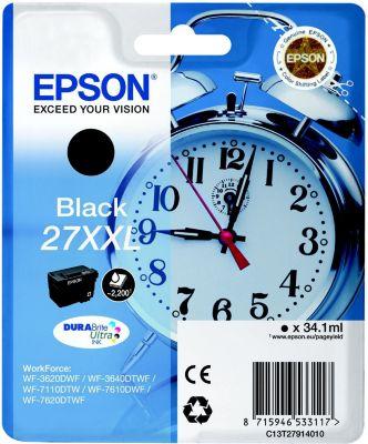 Cartouche d'encre Epson T2791 Série Réveil : Noire XXL