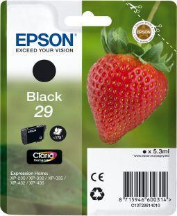 Cartouche d'encre Epson T2981 Noire Série Fraise