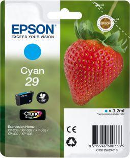 Cartouche d'encre Epson T2982 Cyan Série Fraise