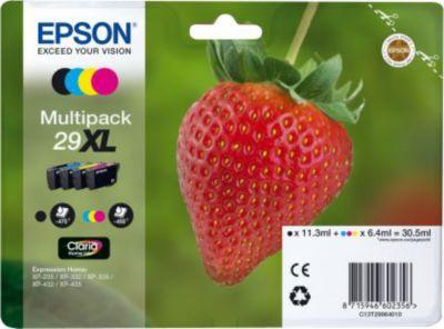 Cartouche d'encre Epson T2996 (N/C/M/J) XL Série Fraise