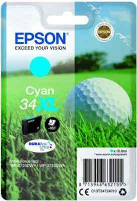 Cartouche d'encre Epson T3472 Cyan XL Série Balle de golf