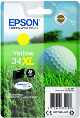 Cartouche d'encre Epson T347 Jaune XL Série Balle de golf
