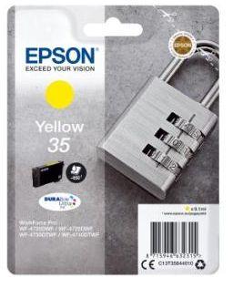Cartouche d'encre Epson T3584 Jaune Série Cadenas