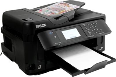 Imprimante jet d'encre Epson WF-7715DWF + Cartouche d'encre Epson T2711 série Réveil : Noire XL